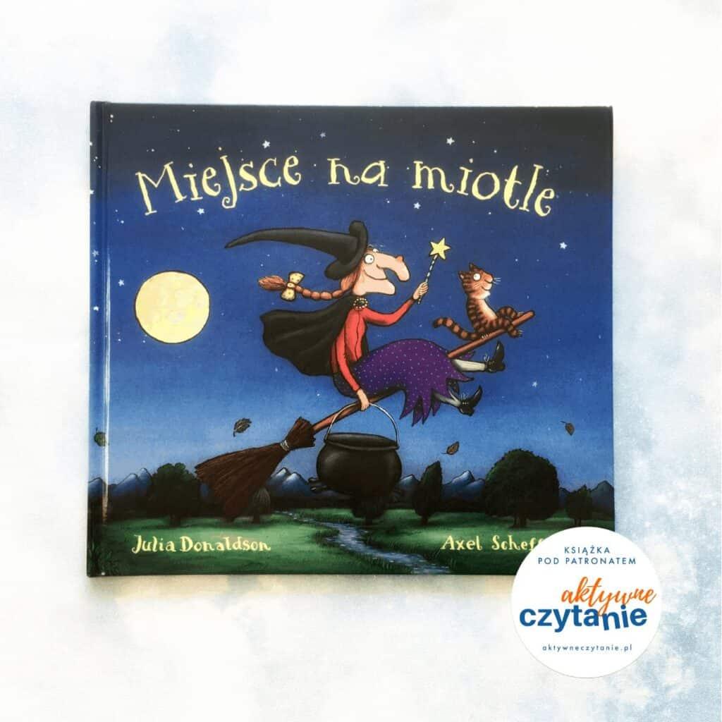Miejsce namiotle okładka ksiązki dla dzieci aktywne czytanie blog