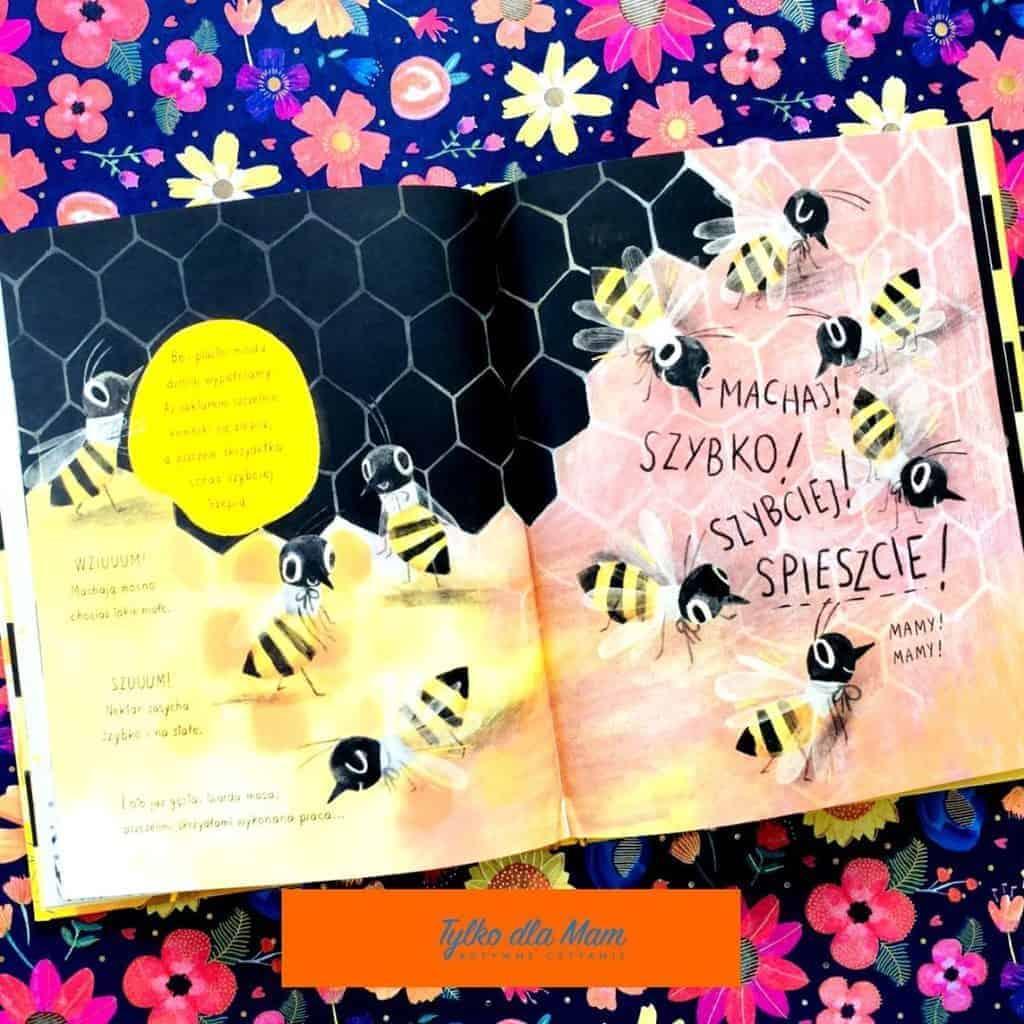 Pszczółka ksiązka opszczołach dla dzieci