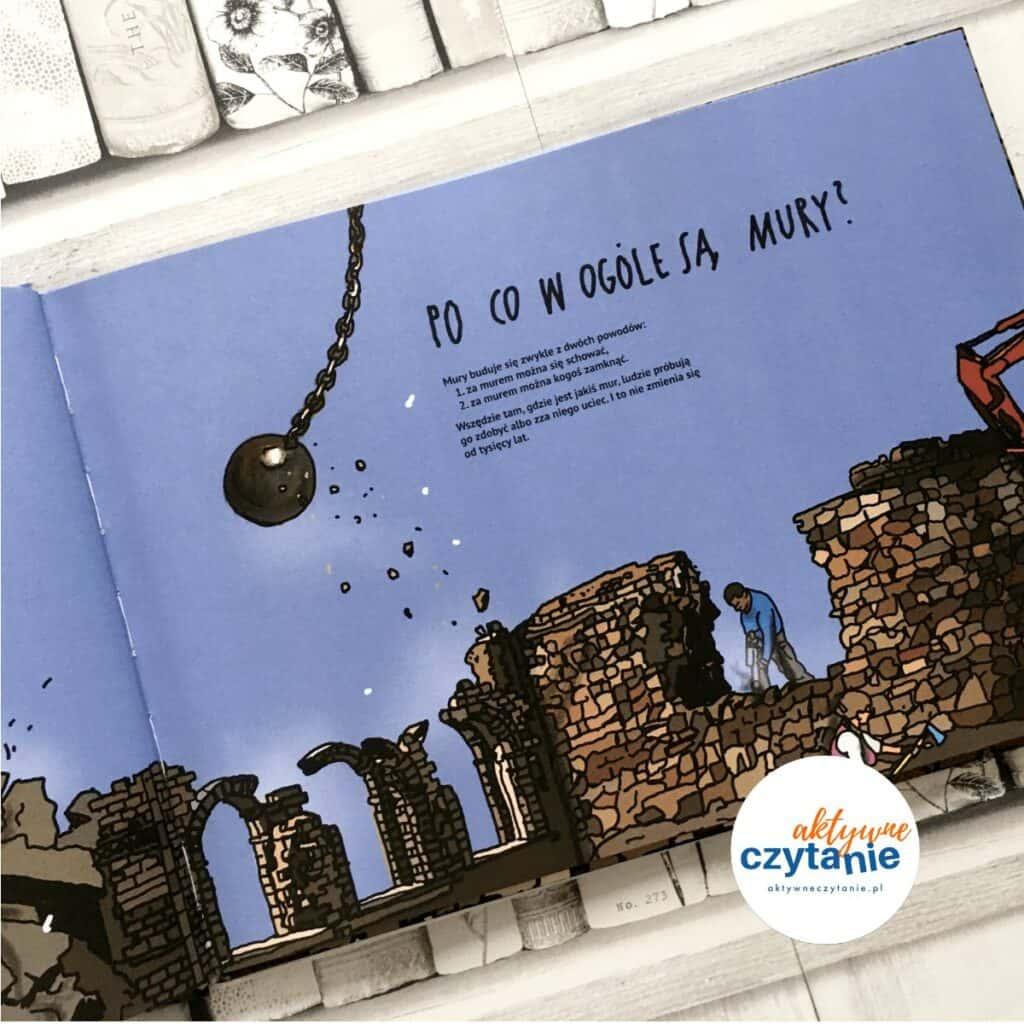Mury aktywne czytanie ksiązki dla dzieci recenzja 8