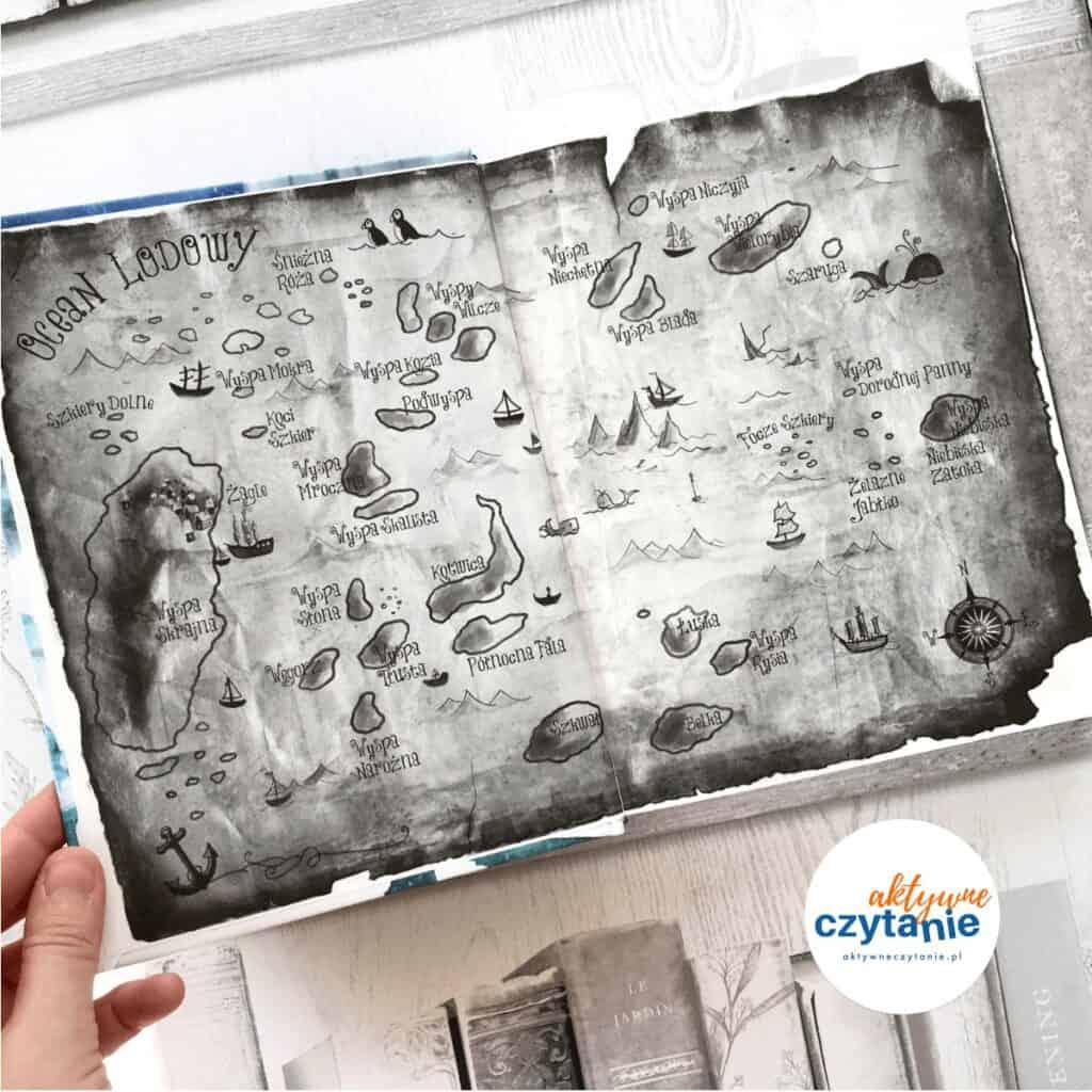 Piraci oceanu lodowego aktywne czytanie ksiązki dla dzieci 5