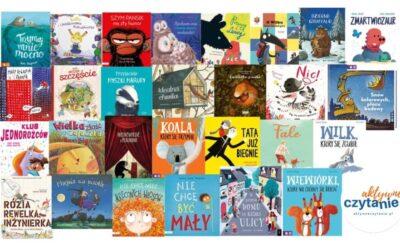 TOP 30 książek dla dzieci wwieku 2-4 lata
