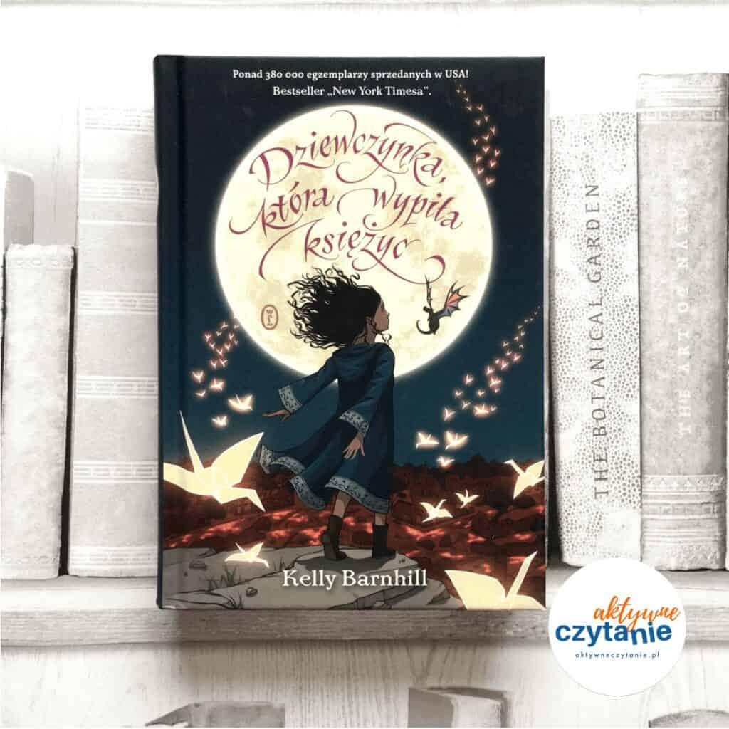 Dziewczynka, która wypiła księżyc książki dla dzieci aktywne czytanie 1