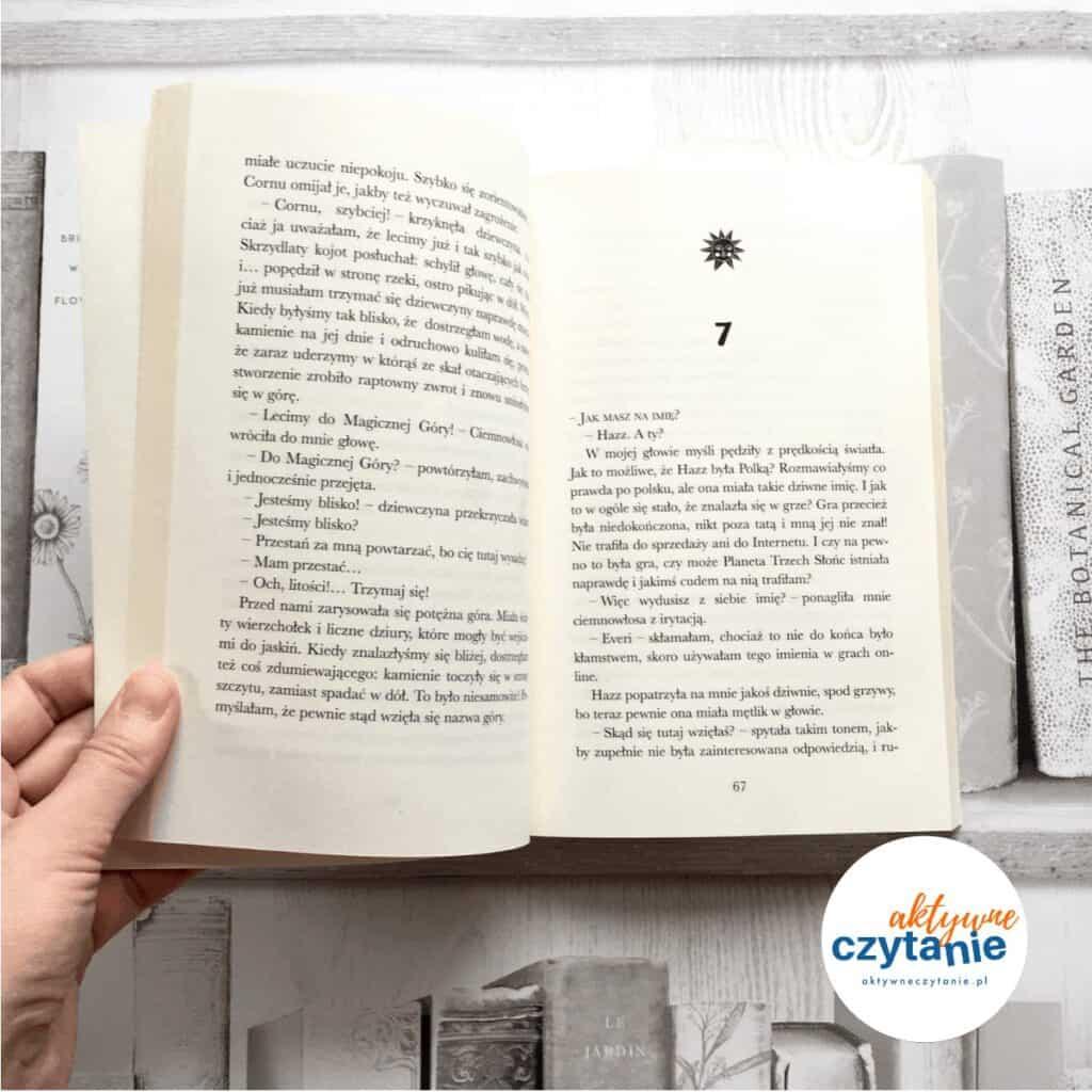 Sylwia iPlaneta Trzech Słońc książki dla dzieci aktywne czytanie 1