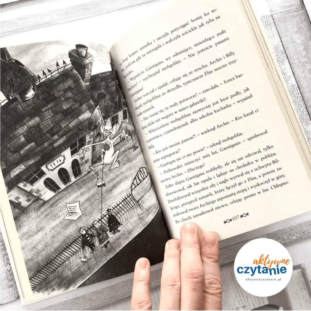Tajemnice Gryzmołkowa. Duch zfabryki krówek ksiązki dla dzieci aktywne czytanie