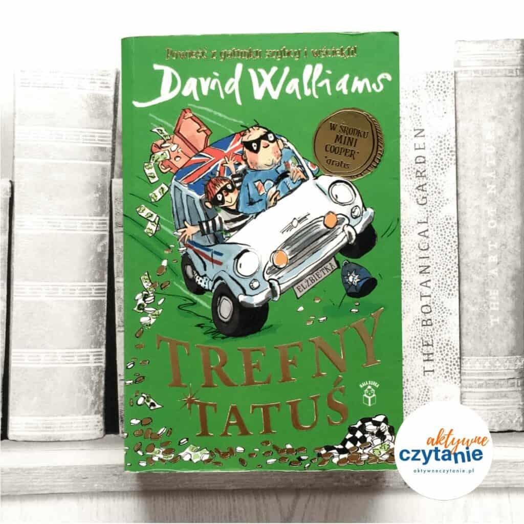 Trefny Tatuś książki dla dzieci aktywne czytanie