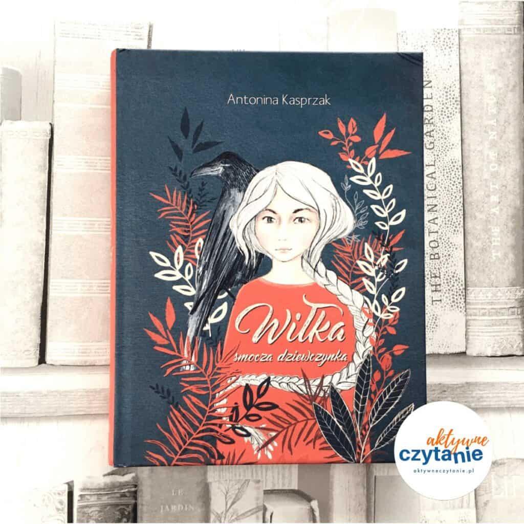Wiłka smocza dziewczynka ksiązki dla dzieci aktywne czytanie