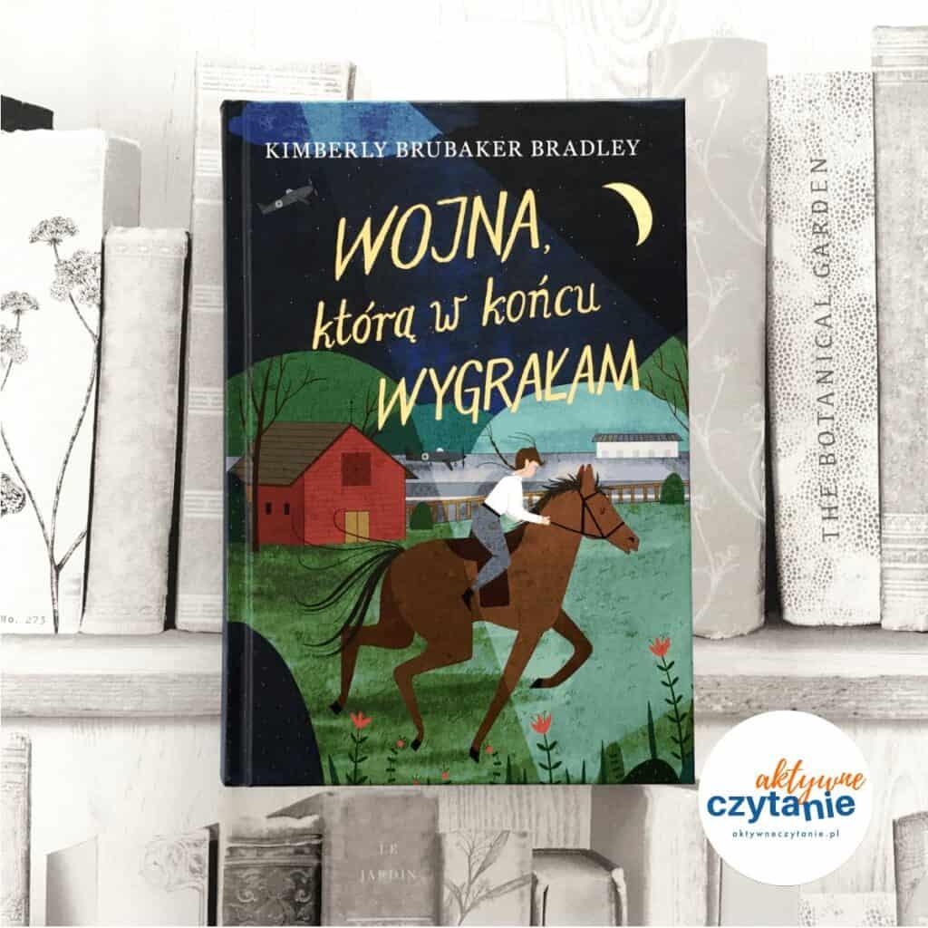Wojna którą wkońcu wygrałam książki dla dzieci aktywne czytanie 1