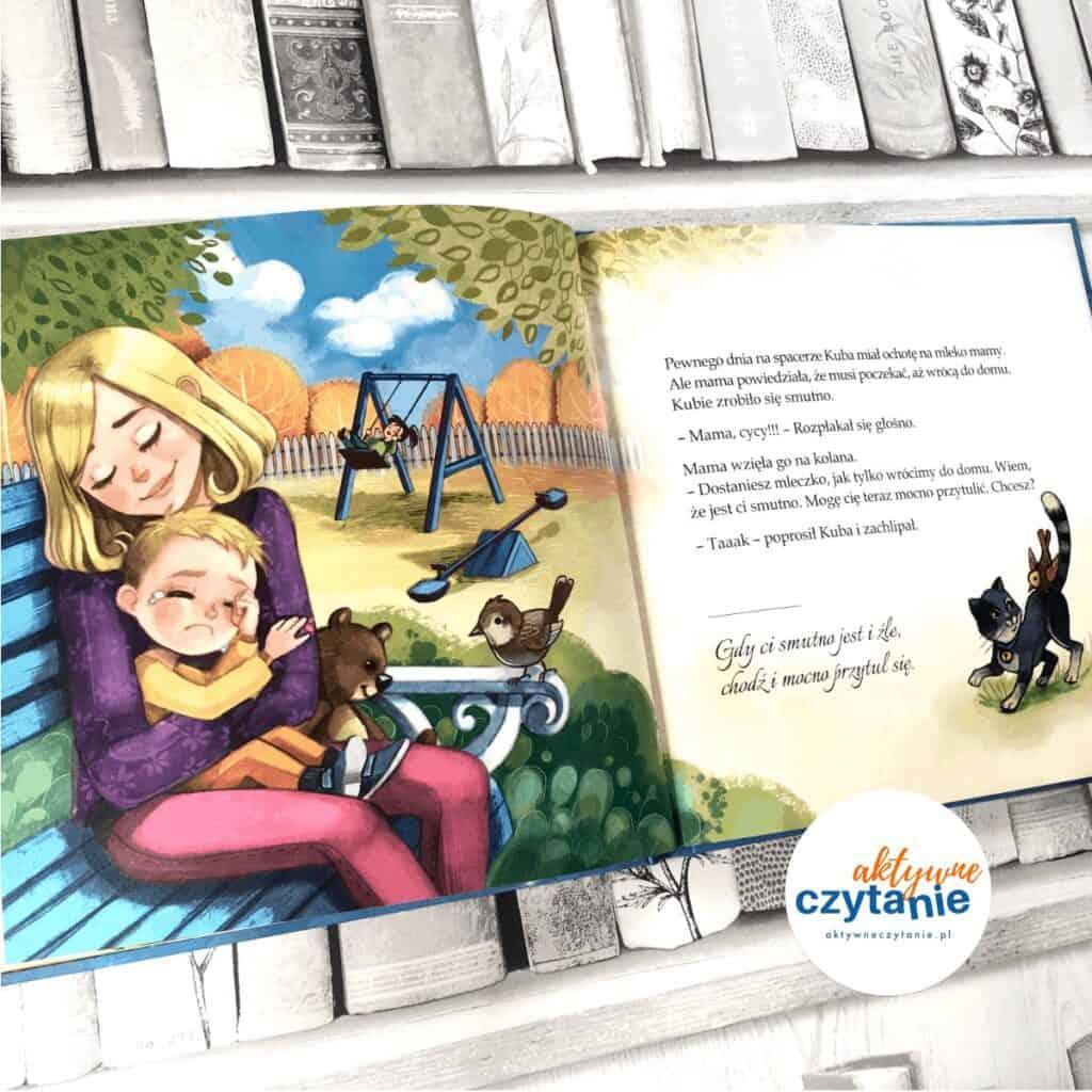 Żegnamy mleko mamy ksiązki dla dzieci aktywne czytanie 2