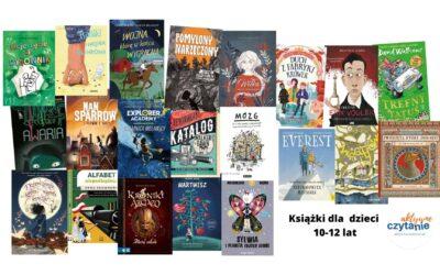 21 rewelacyjnych książek dla czytelników 10-12 lat