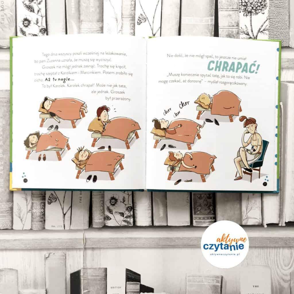 Groszek idzie doprzedszkola ksiązki dla dzieci oprzedszkolu 7