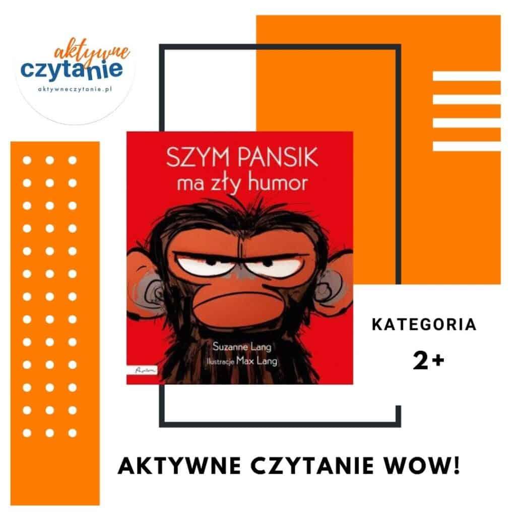 Szym Pansik ma zły humor książka zgłoszona doplebiscytu
