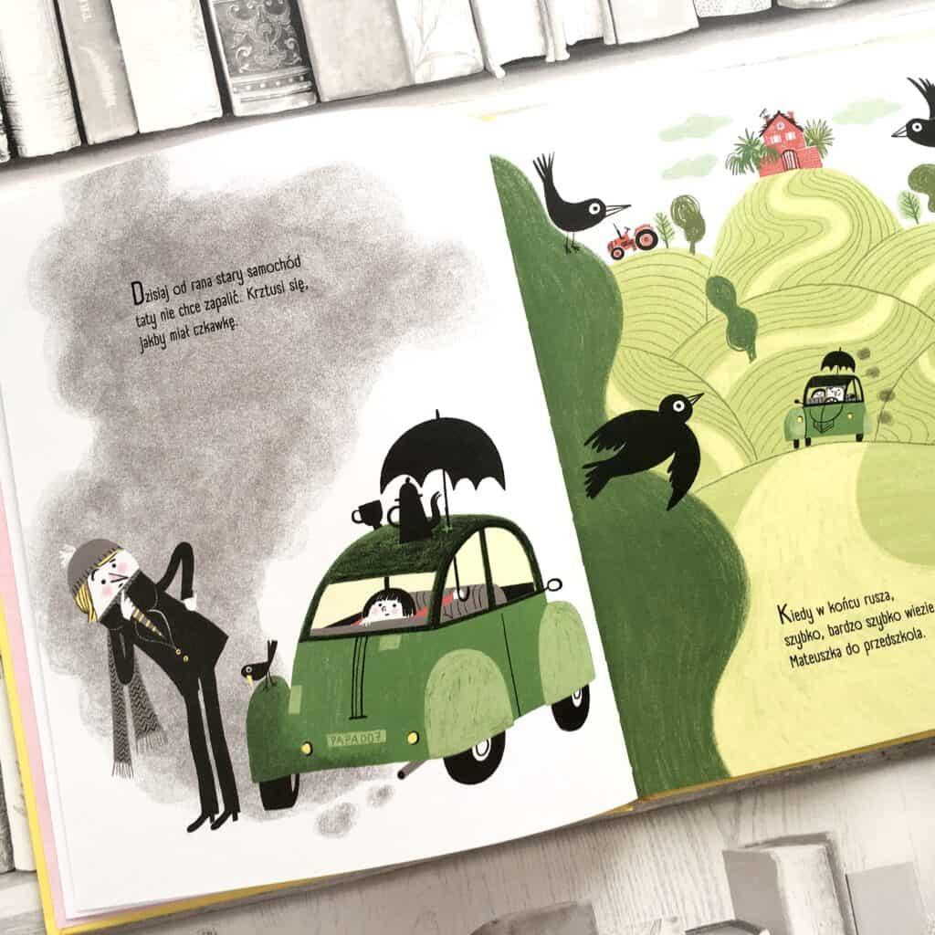samochód zielony