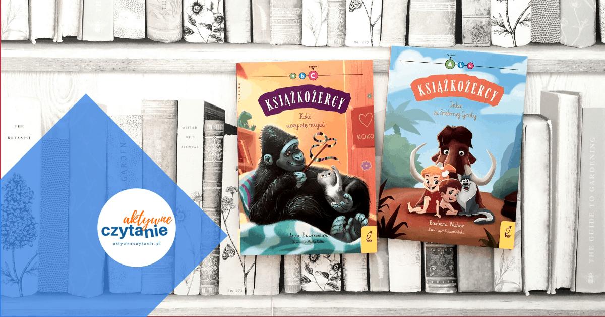 ksiazki-dla-dzieci-ksiazkozercy-aktywne-czytanie