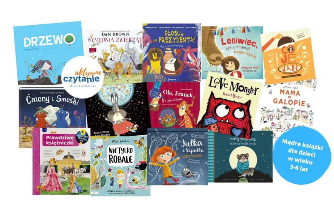 madre ksiazki dla dzieci w wieku 3-6 lat aktywne czytanie ksiazki dla dzieci