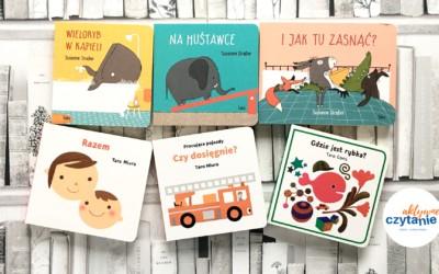 6 kartonowych książek dla najmłodszych
