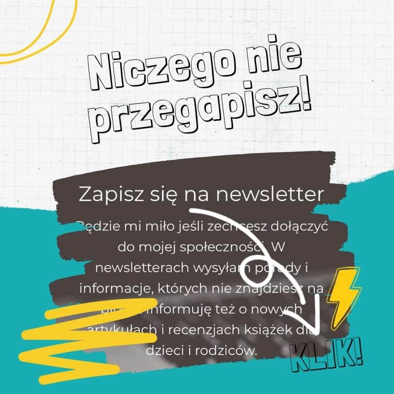 newsletter tylkodla mam