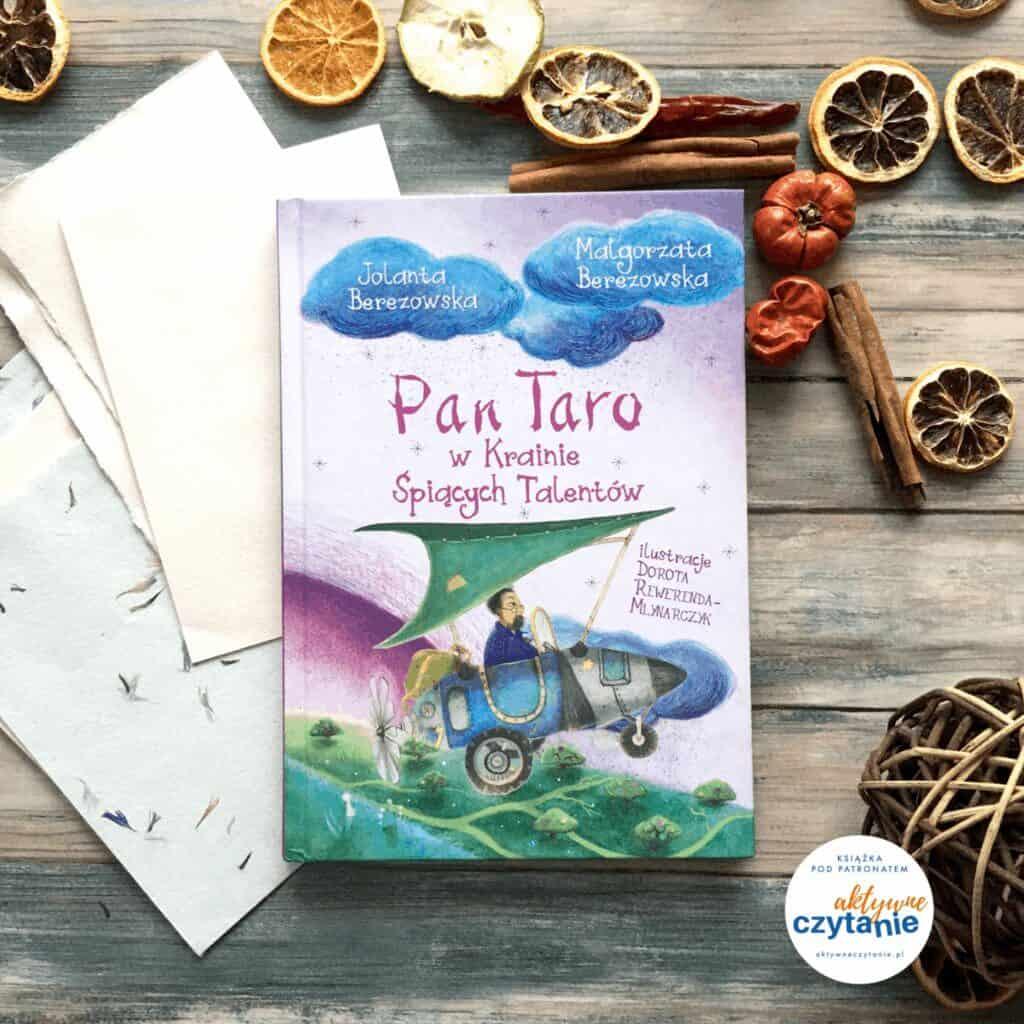 pan-taro-w-krainie-spiacych-talentow-patronat-aktywne-czytanie-ksiazki-dla-dzieci