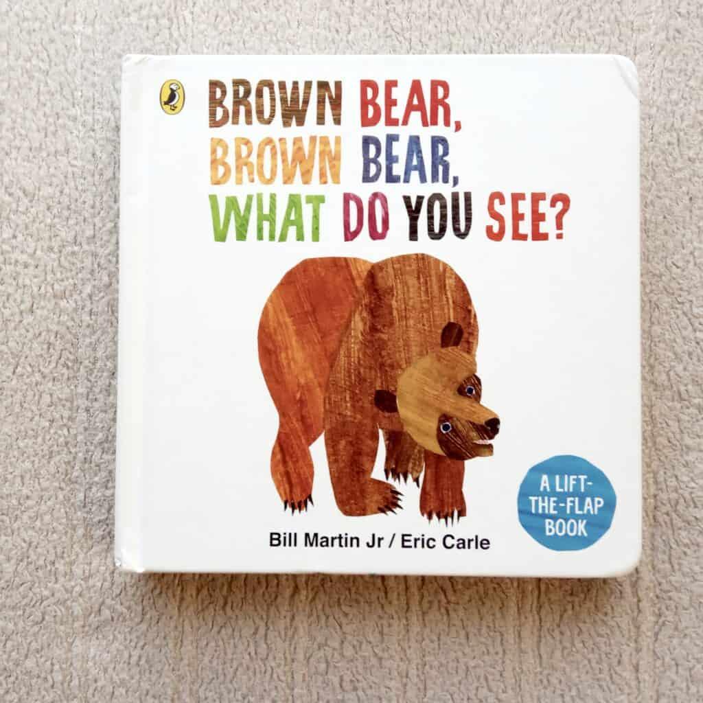 BrownBear ksiazka dla dzieci nauka angielskiego