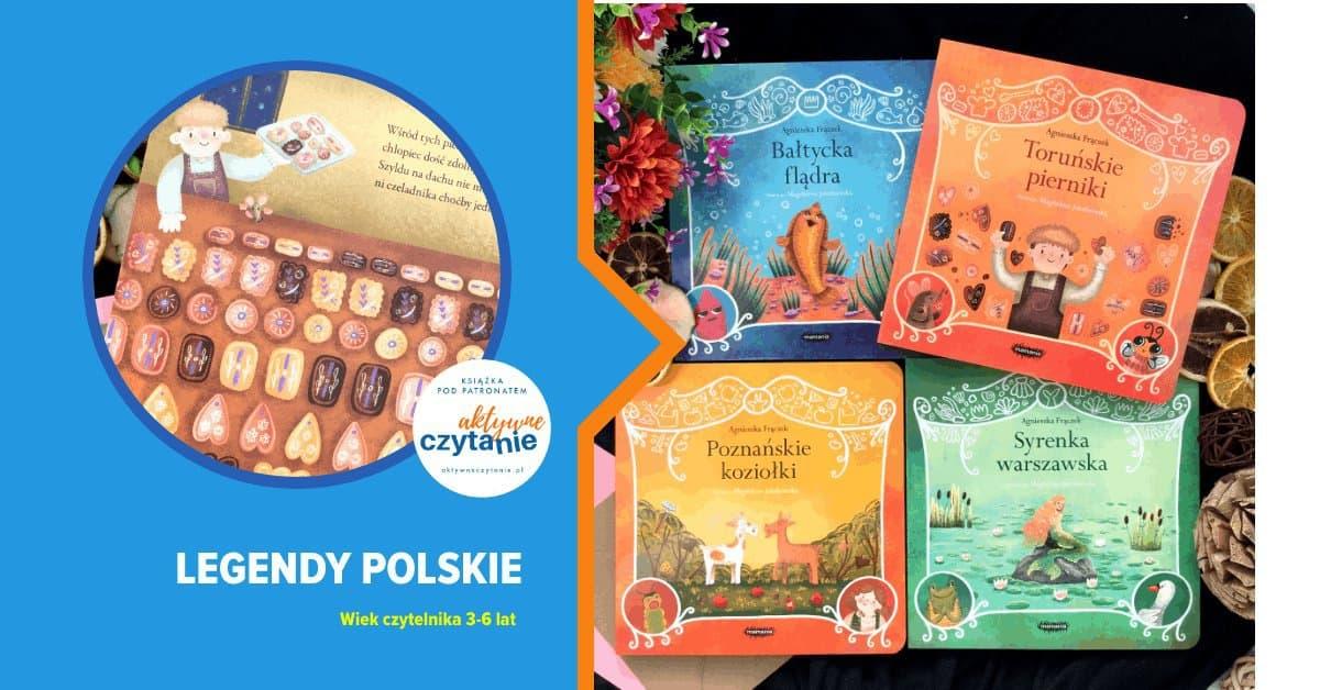 legendy polskie mamania ksiazki dla dzieci
