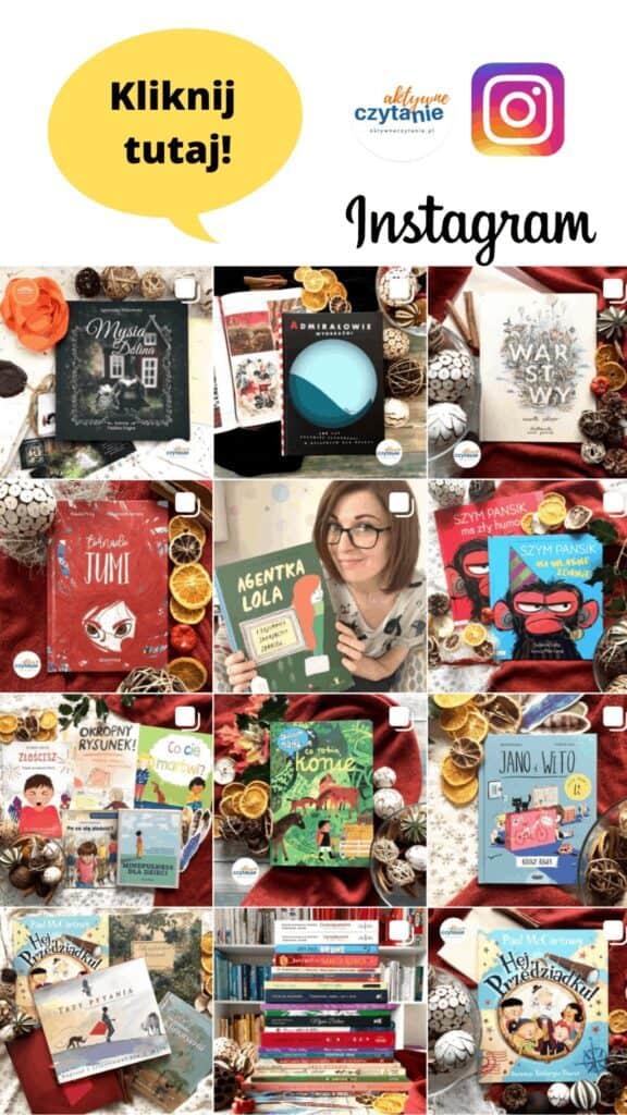 Instagram aktywne czytanie ksiazki dla dzieci recenzje anna jankowska