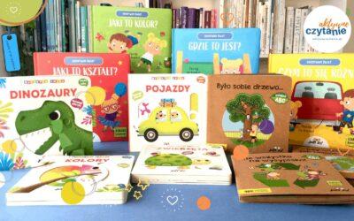 Kartonowe książki dla dzieci odJupi Jo!