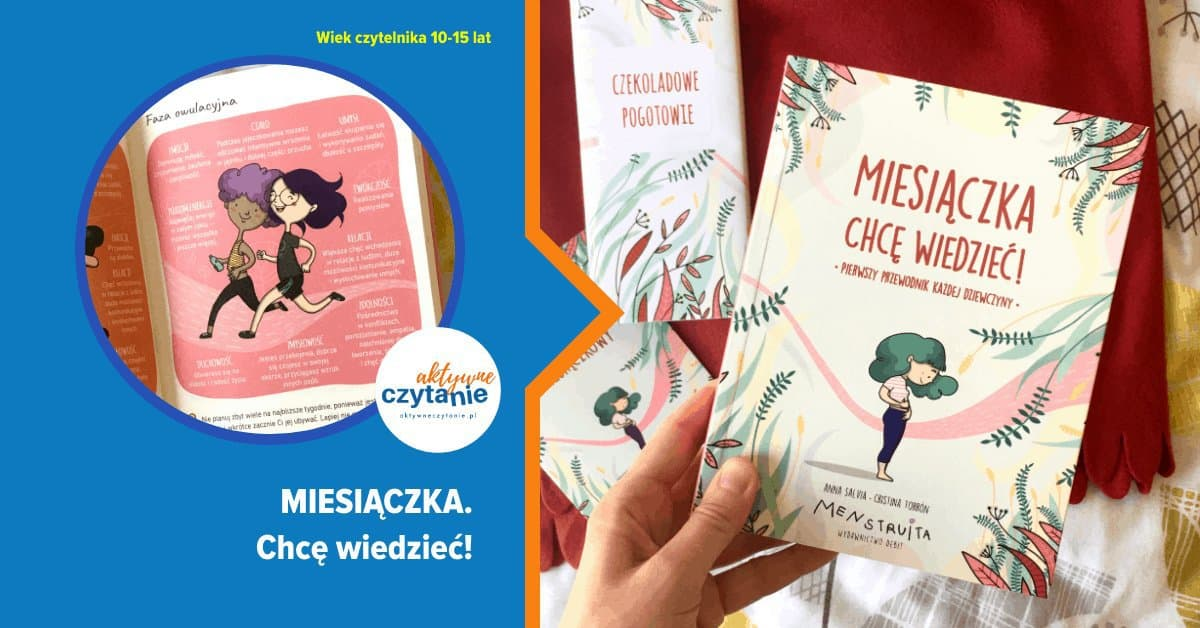 miesiaczak chce wiedziec recenzja aktywne czytanie ksiazki dla dzieci