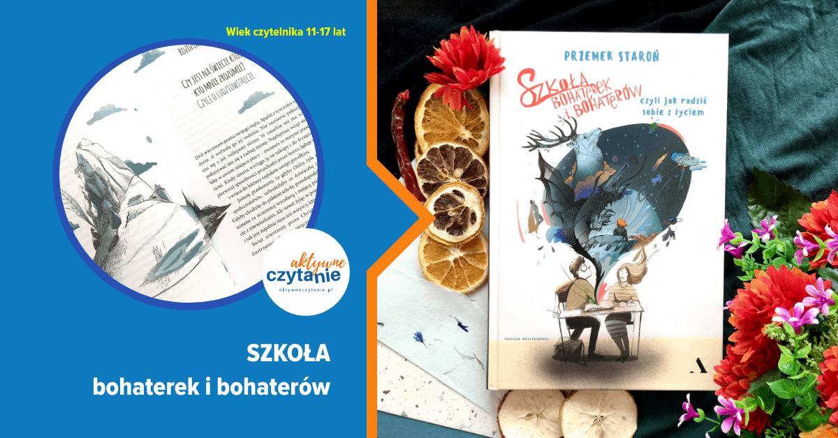 szkola bohaterek ibohaterow recenzja ksiazki dla dzieci imlodziezy