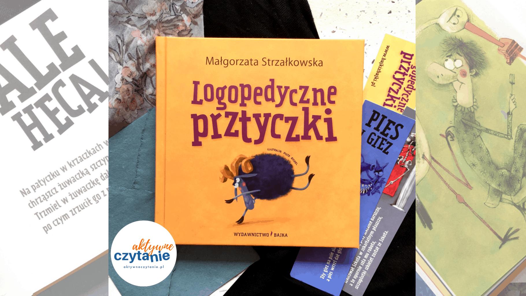 logopedyczne prztyczki recenzja ksiazki dla dzieci recenzja