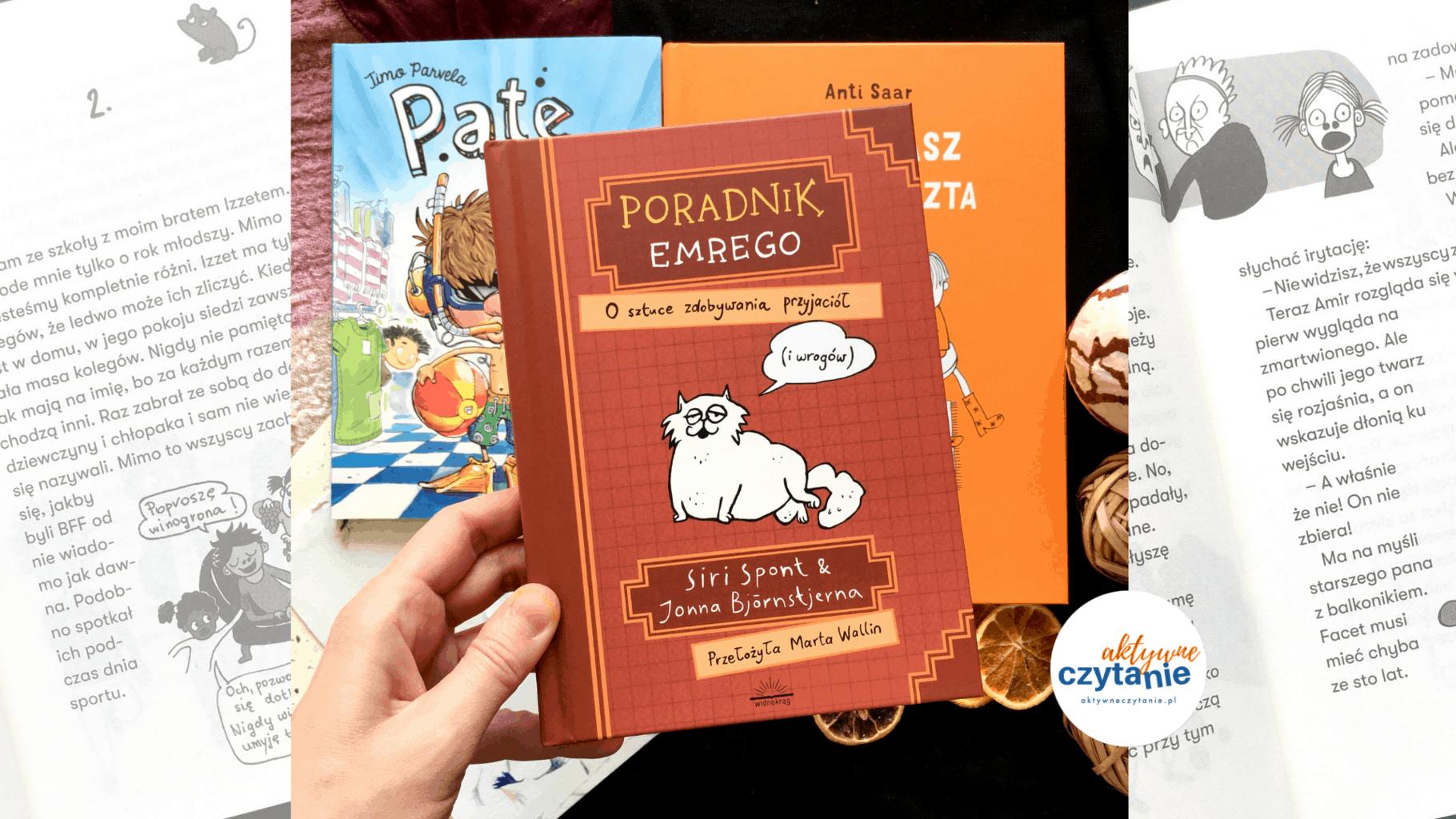 poradnik emrego ksiazki dla dzieci aktywne czytanie recenzja