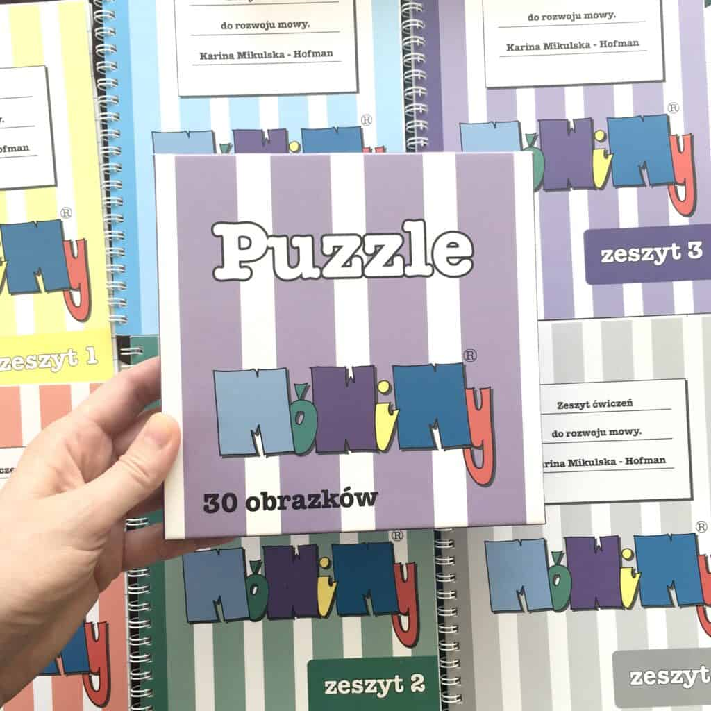 puzzle logopedyczne mwoimy