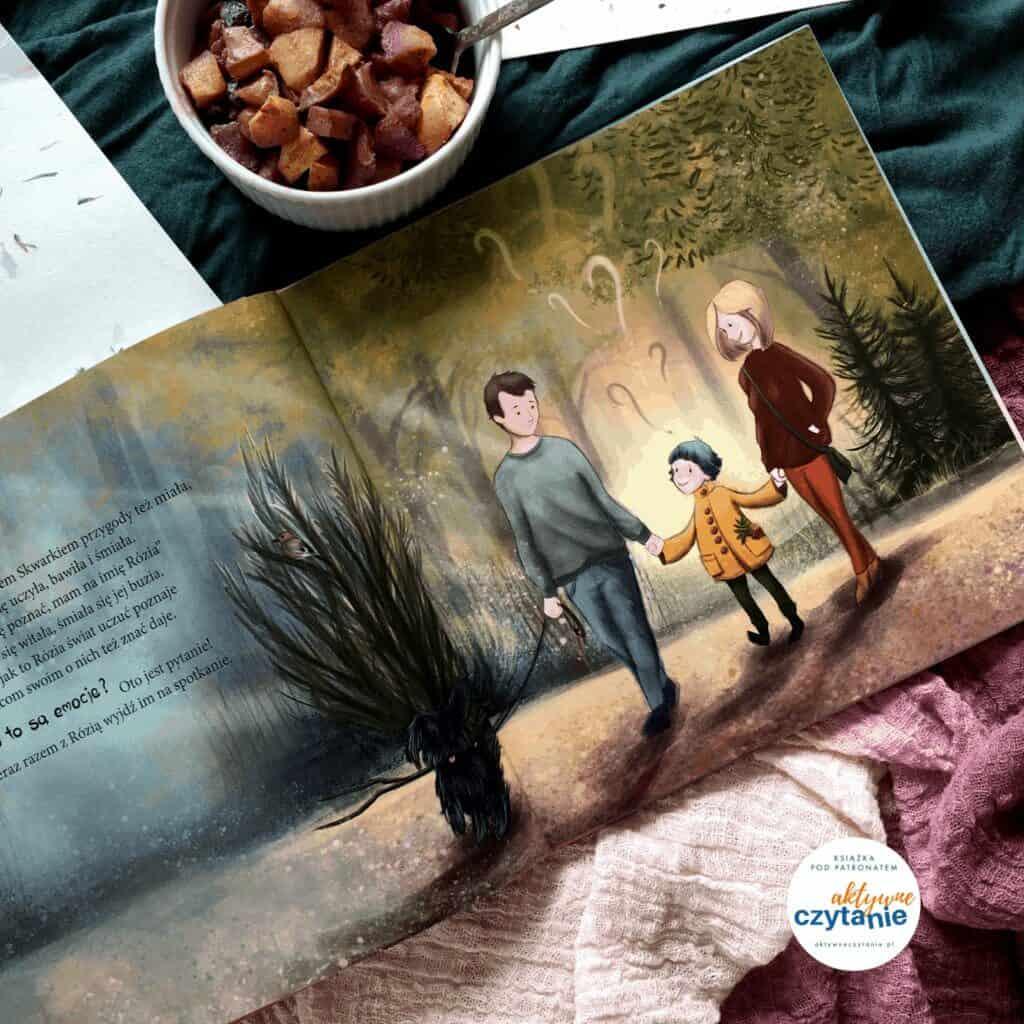 rozia-i-kolorowe-emocje-recenzja-ksiazki-dla-dzieci-aktywne-czytanie-patronat1 rodzina