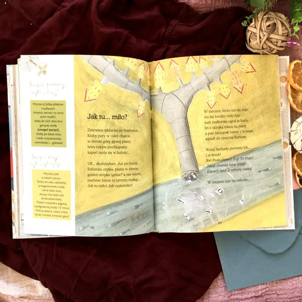 sprezynek natropie ekologia recenzja ksiazki dla dzieci agnieszka fraczek wiersze aktywne czytanie