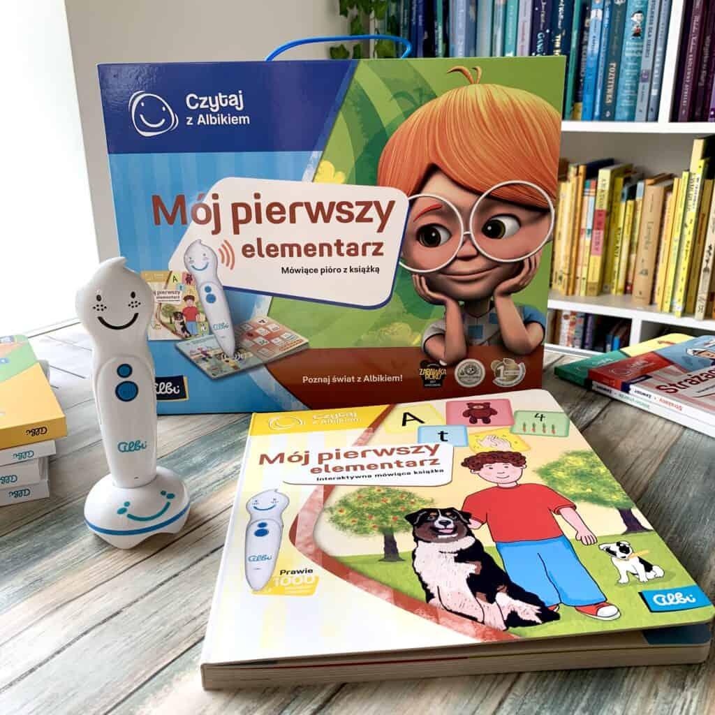 czytaj zalbikiem pioro albik recenzja ksiazki dla dzieci aktywne czytanie