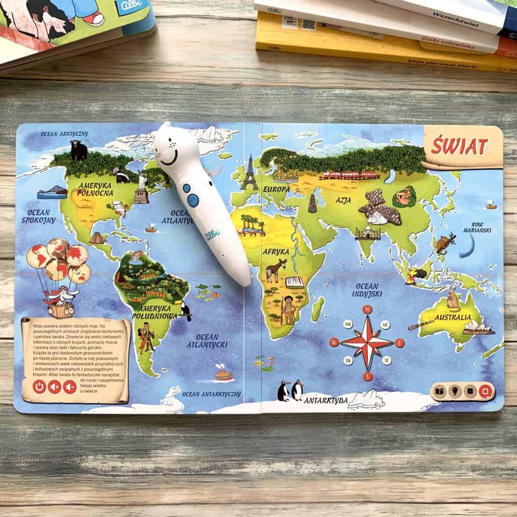 czytaj zalbikiem pioro albik recenzja ksiazki dla dzieci aktywne czytanie atlas swiata