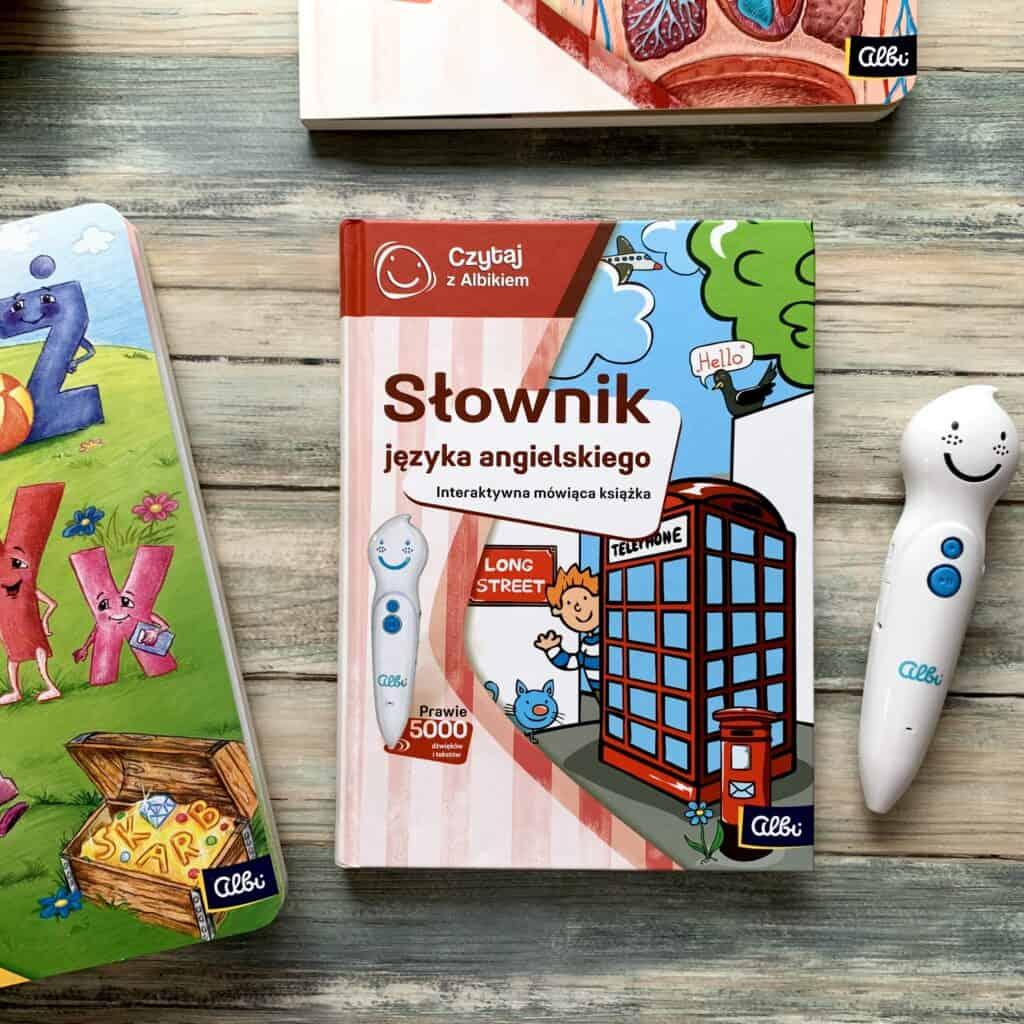 czytaj zalbikiem pioro albik recenzja ksiazki dla dzieci aktywne czytanie slownik jezyka angielskiego