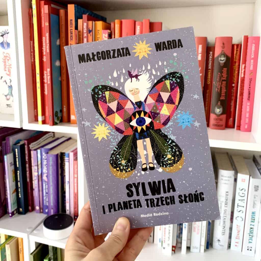 sylwia iplaneta trzech slonc ksiazki dla dzieci aktywne czytanie recenzja