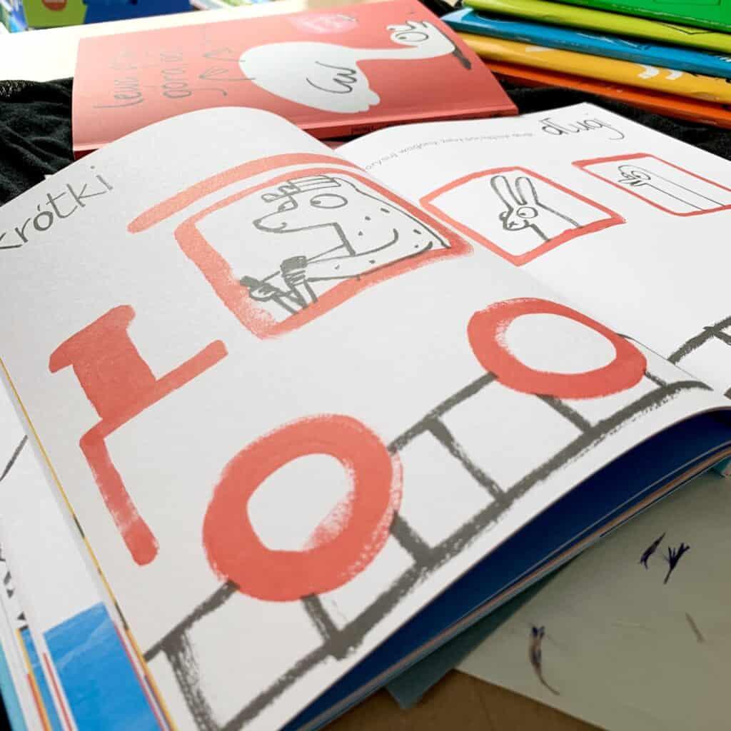 poznaje irysuje ksiazka dla dzieci recenzja cieplo zimno przod tyl kolorowanka zadania