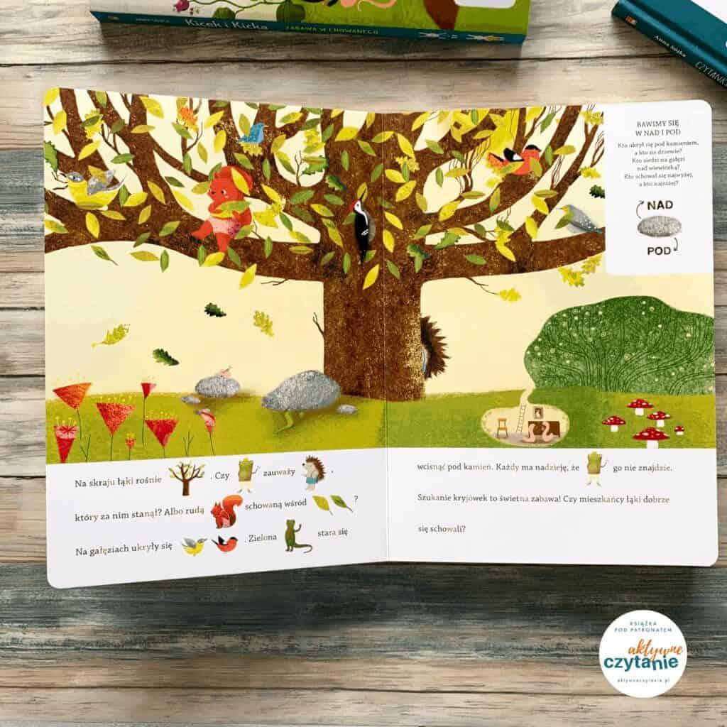 ksiazka kicek ikicka zabawa wchowanego dla dzieci czytanki sytlabowe zobrazkami recenzja kroliki 10