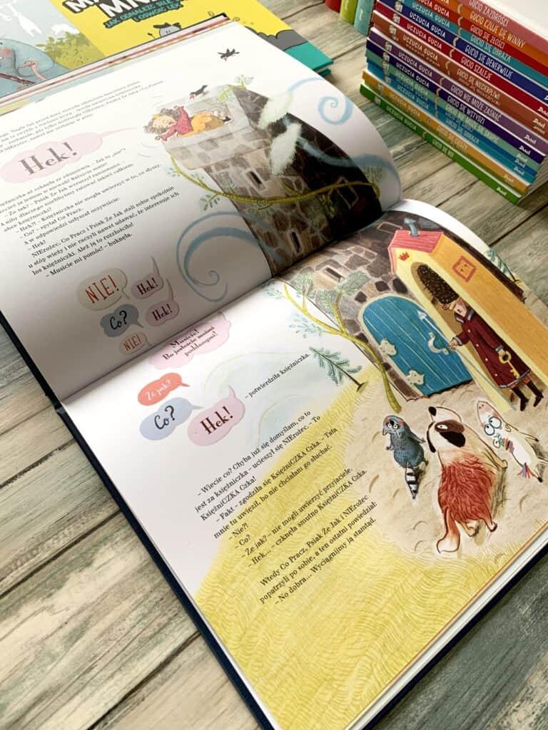ksiazki dla dzieci nierozec jednorozec recenaj debit aktywne czytanie
