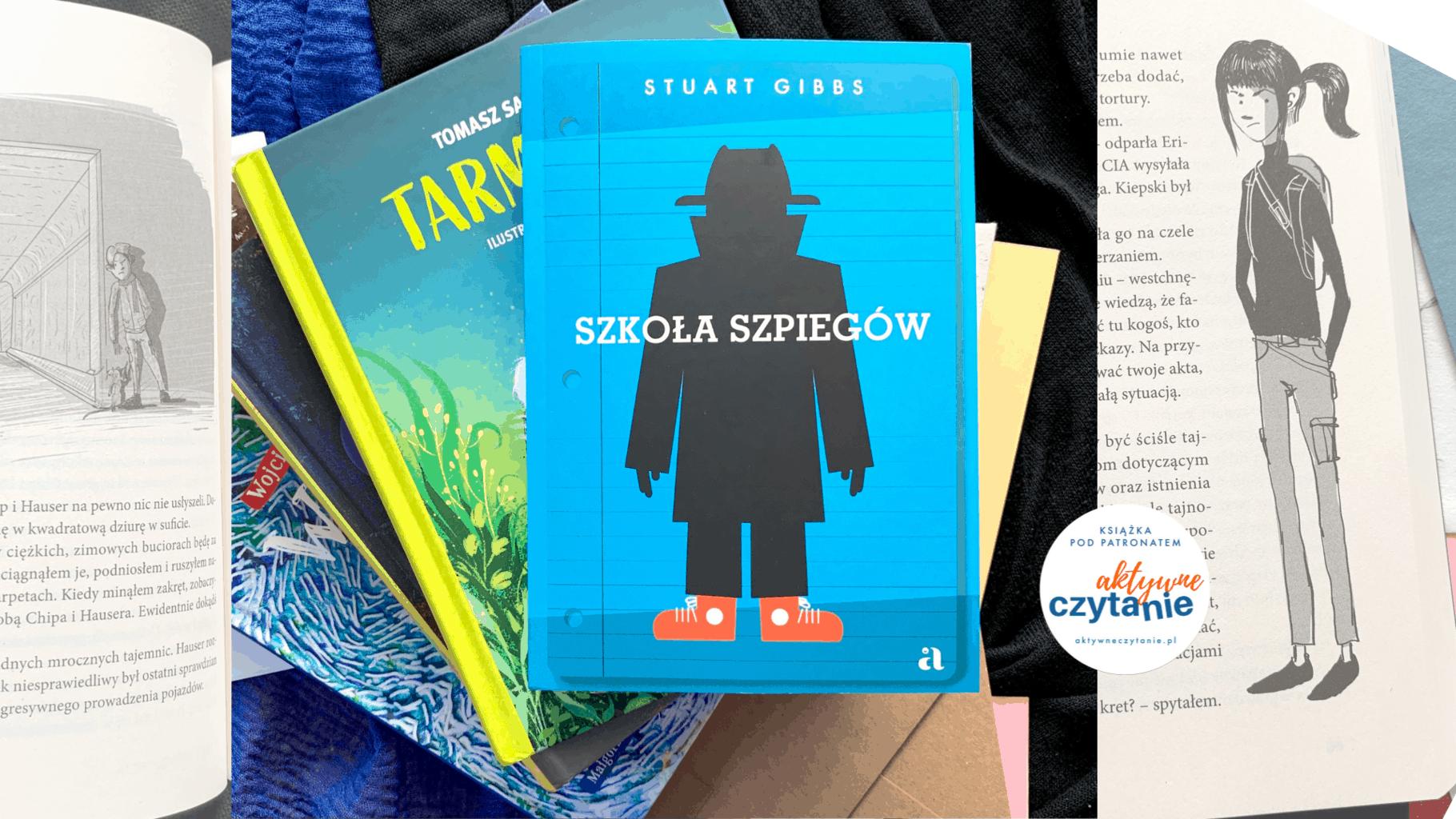 ksiazkia szkola szpiegow agora dla dzieci patronat aktywne czytanie
