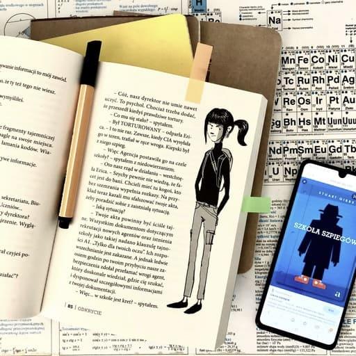 szkola szpiegow recenzja ksiazki dla dzieci aktywne czytanie patronat agora dla dzieci61