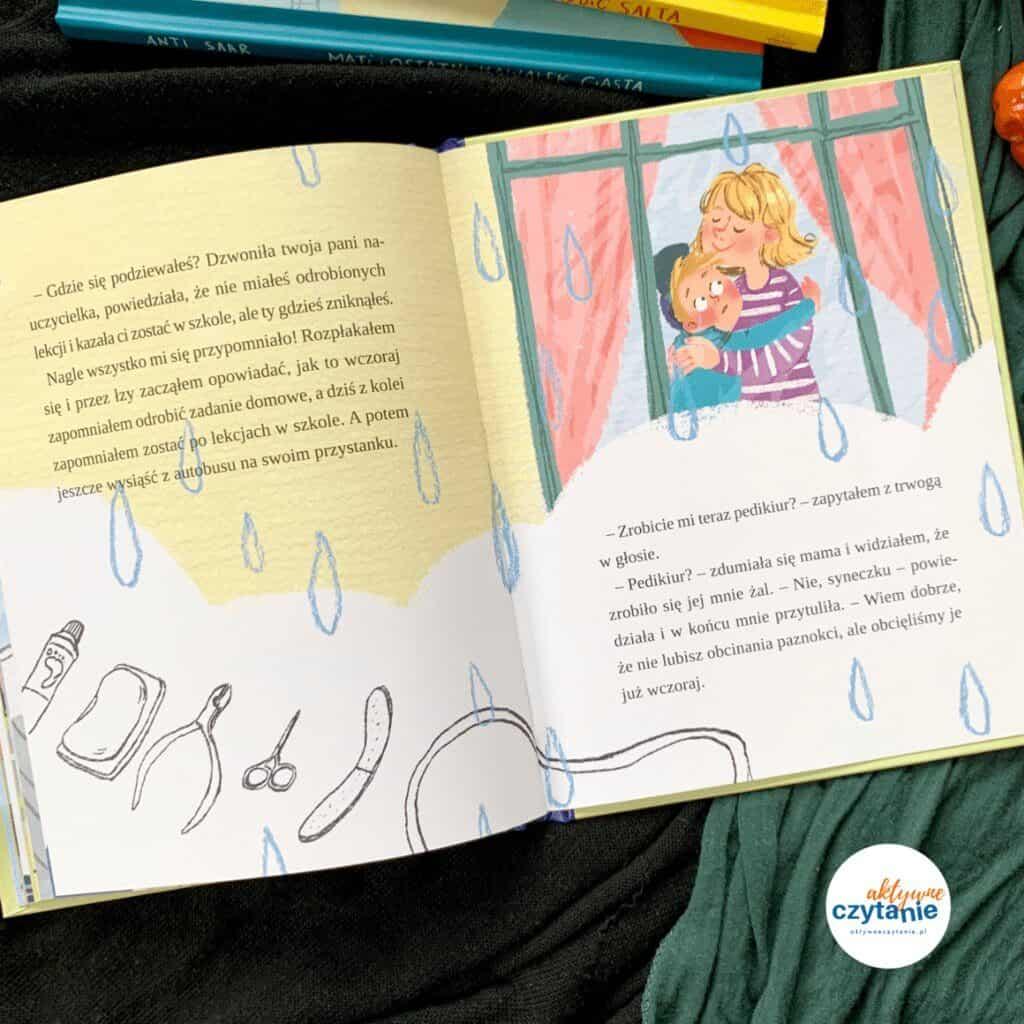 ksiazka dla dzieci mati jedie autobusem recenzja widnokrag aktywne czytanie blog