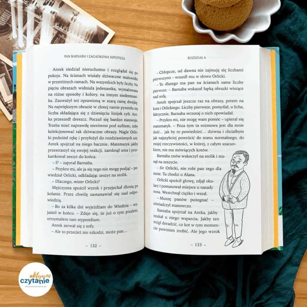 ksiazka dla dzieci pan barnaba izagadkowa hipoteza recenzja blog aktywne czytanie1