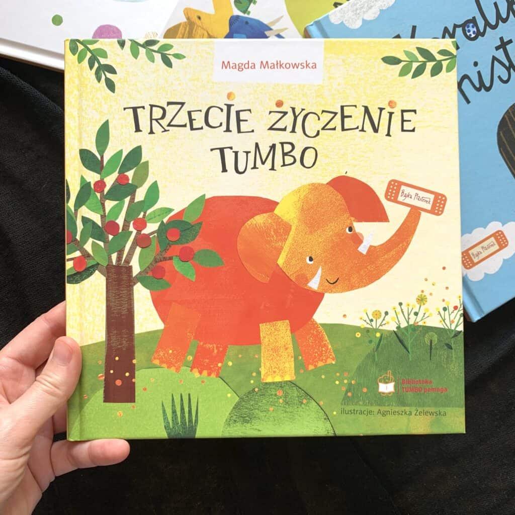 ksiazka trzecie zyczenie tumbo recenzja dla dzieci