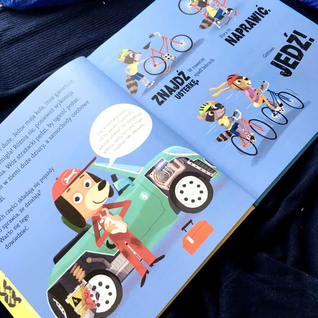 ksiazka znajdz napraw jedz samochody iinne pojazdy recenzja aktywne czytanie