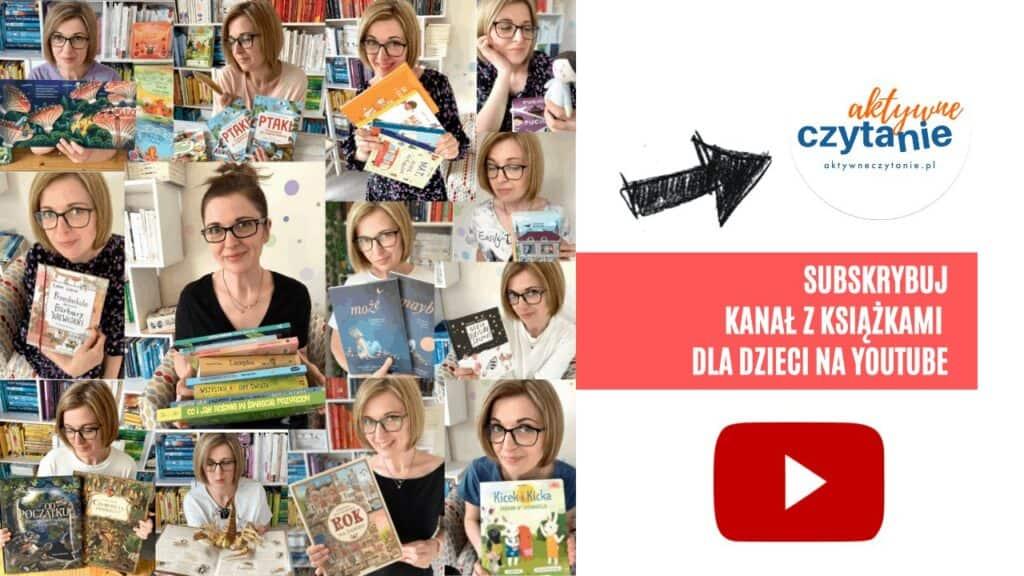 yt ksiazki dla dzieci anna jankowska aktywne czytanie recenzje książkowe wideorecenzje ksiązki dla 6 latka