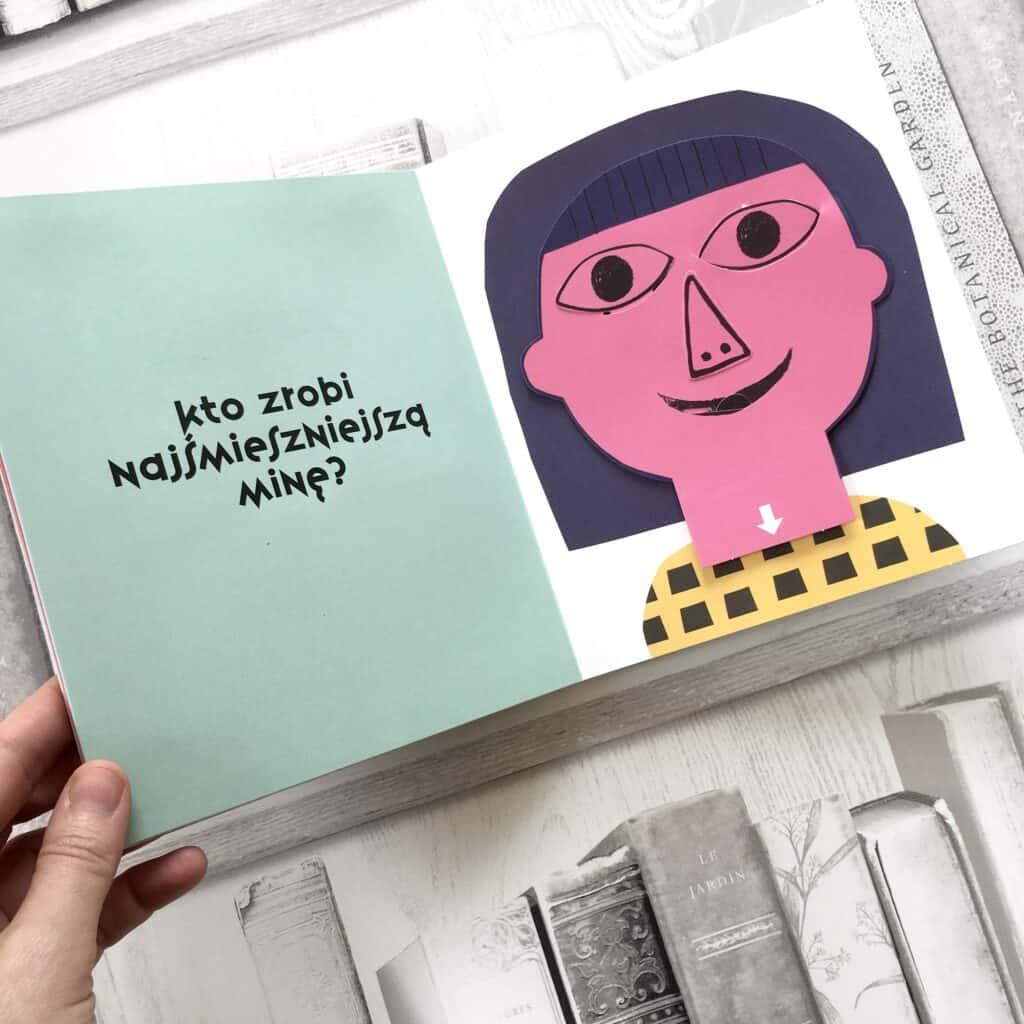 ksiazki dla dzieci pop up co tozasmutna mina recenzja dwie siostry