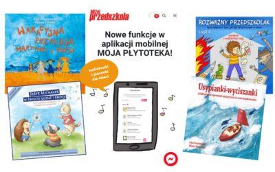 Aplikacja MOJA PŁYTOTEKA. Audiobooki ipiosenki dla dzieci