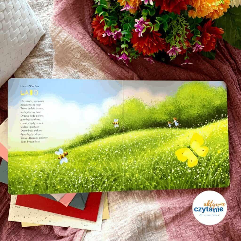 przytulanki kartonowa ksiazka dla dzieci zwierszami recenzja1