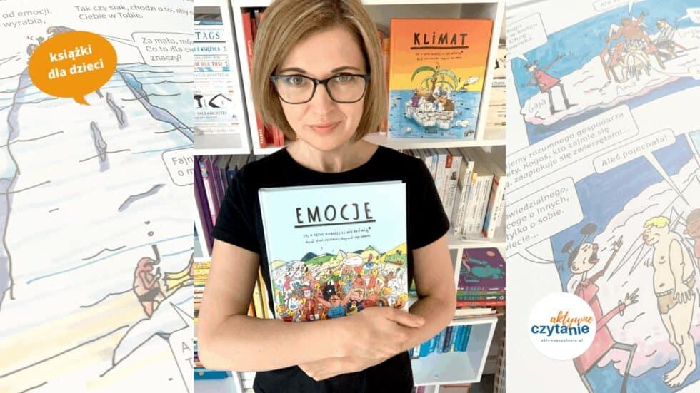 recenzja ksiazki dla dzieci emocje to o czym dorosli ci nie mowia klimat ksiazka dla 11 latka komiks341